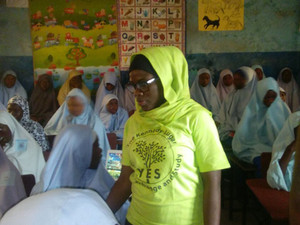 YES alumna nominated for family planning leadership grant