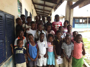 YES Alum Starts English Club for Ghanian Students