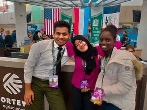 Farnaiza's Experience at World Food Prize