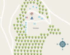 Le Peyret Bas camping plattegrond