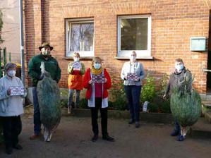 Weihnachtsbäume für Bad Schwartauer Tafel