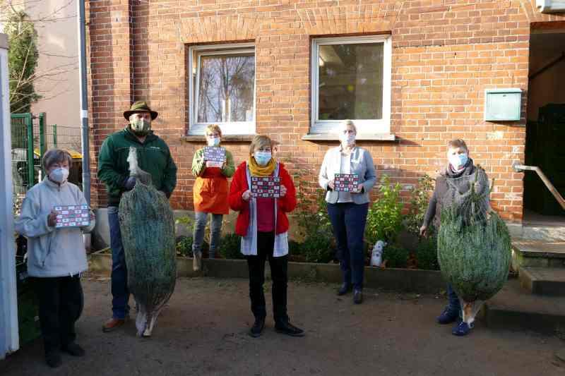Helios Agnes Karll Krankenhaus Bad Schwartau spendet 20 Weihnachtsbäume für Bedürftige