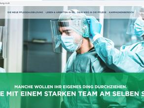 Echte Pflege. Im echten Norden. - Kampagnen-Webseite mit neuen Funktionen