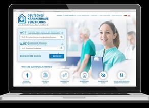 Neue Hilfe bei der Krankenhaus-Suche