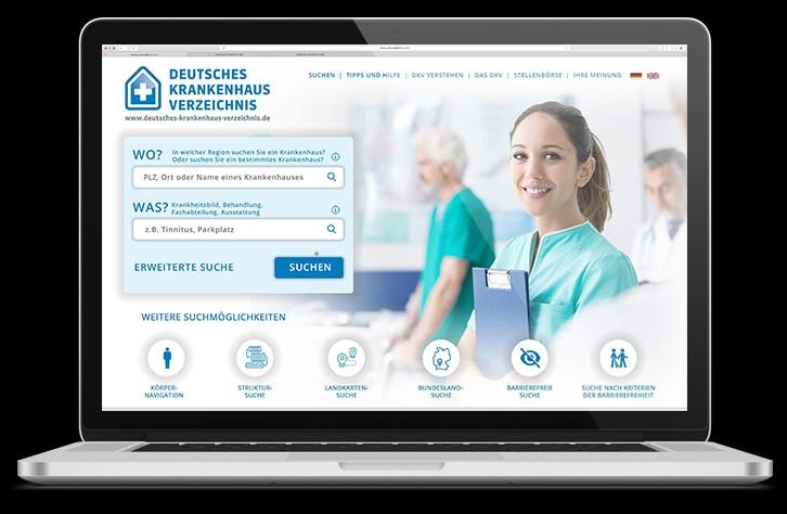 Neues Deutsches Krankenhaus Verzeichnis