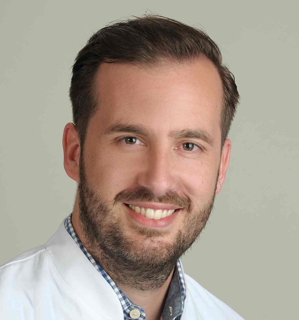 Preisträger Dr. Jos Steffen Becktepe, Oberarzt der Klinik für Neurologie, Campus Kiel