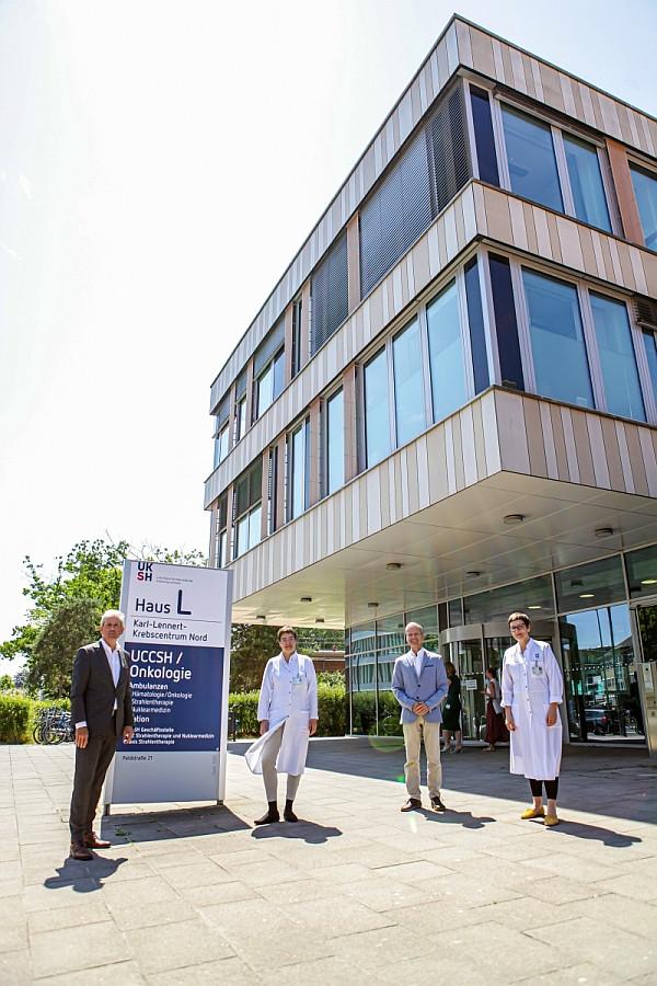 Kieler Geschäftsstelle des neugegründeten UCCSH (Bild: UKSH)