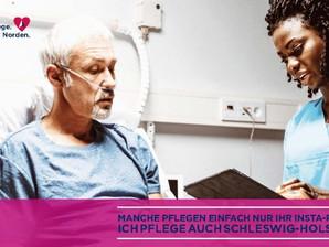 Echte Pflege. Im echten Norden. - Neue Pflege-Ausbildung in Schleswig-Holstein