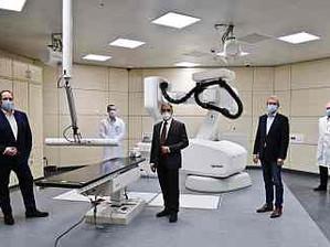 Robotergestütztes CyberKnife-System am UKSH ermöglicht Bestrahlungstherapien von höchster Präzision