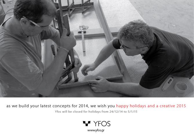 Season's Greetings from Yfos