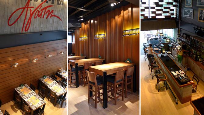 """Renovation of """"Kenouria Agape"""" restaurant, June 2015"""
