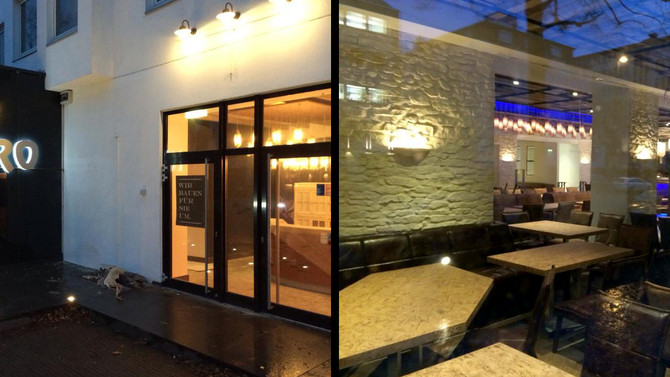 Project at the new Kytaro restaurant in Dusseldorf, Germany completed