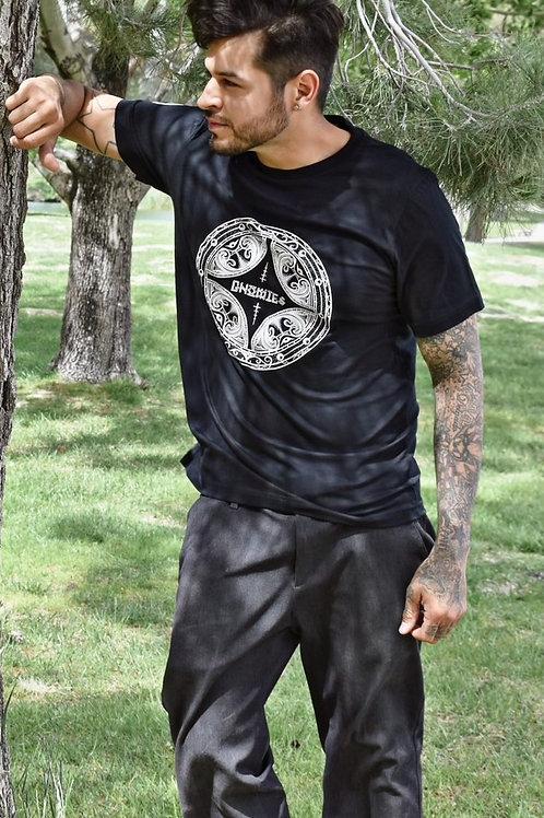 """Gnomies """"Viking Shield"""" T- Shirt"""
