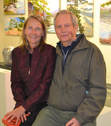 Andrea Hillo and Robert Bateman Sept 201