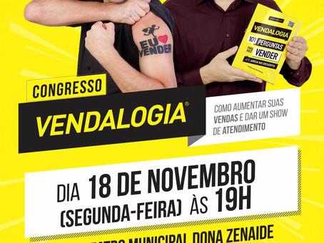 Congresso Vendalogia - Como aumentar suas vendas e dar um show de atendimento