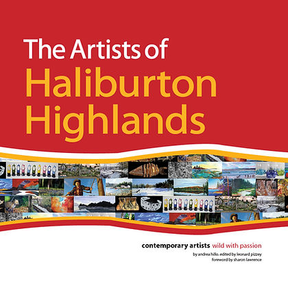 Algonquin Paintings Arts Book Cover