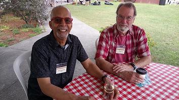 Henry and John at Buckhorn Fine Art Fest
