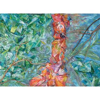 Abstract Muskoka art nature