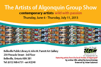 Invitation to Group Art Exhibit