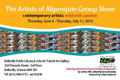 Invitation to Group Art Exhibit