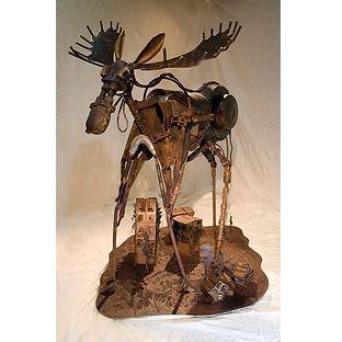 Algonquin Moose Sculpture art