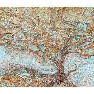 Muskoka Algonquin Enchanted Forest Silk paper art