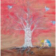 Muskoka tree chickadee girl roots