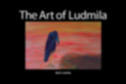 The Art of Ludmila Art Book Hard Cover