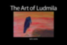 The Art of Ludmila Art Book Hard Cover