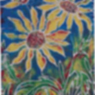 Muskoka flower art sunflower