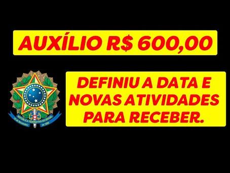 CORONAVOUCHER - BENEFICIO R$ 600,00