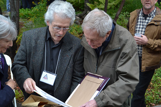 Michael Dumas and Robert Bateman 2019.jp