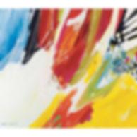 Muskoka colour splash abstract art