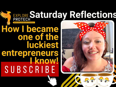 How I became one of the luckiest entrepreneurs I know!
