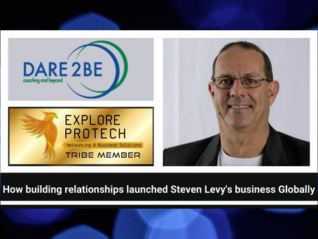 How Building Relationships Launched Steven Levy's Business Globally