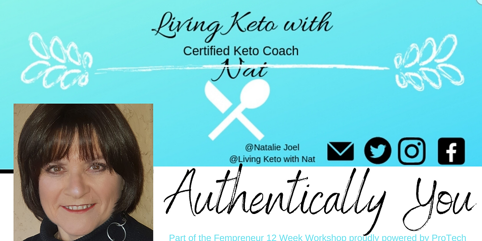 Authentically You with Natalie Joel - Exclusive to Fempreneurs on the Fempreneur 12 Week Workshop!
