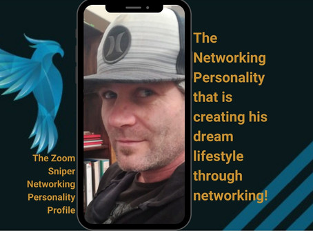 The Zoom Sniper Networking Personality Profile