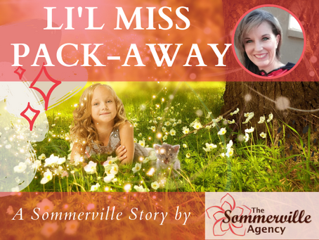 Li'l Miss Pack-Away #ASommervilleStory