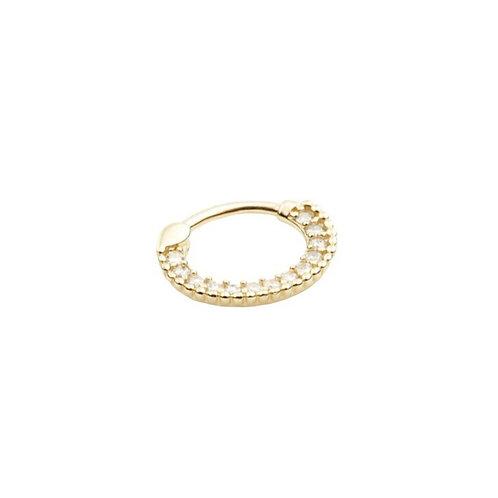 Tish Lyon 'Ele' Ring 14kt Yellow Gold