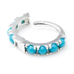 TURQUOISE RING 1.2x8mm