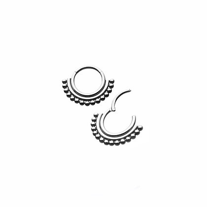 DOUBLE BAND BEADED HIGHED SEGMENT 1.2 x 8mm