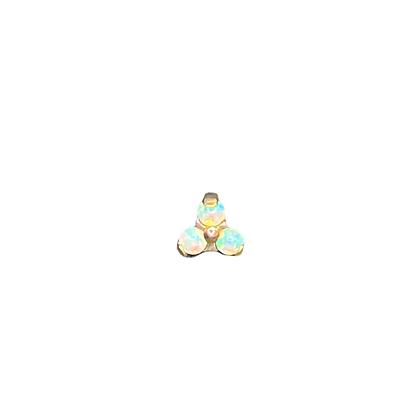 Opal trinity - anodised gold