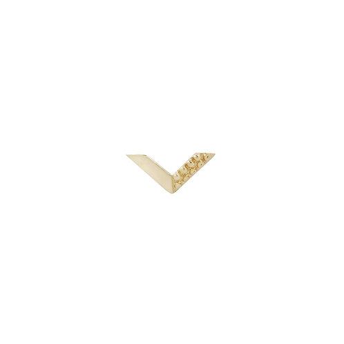 Buddha Jewelry Organics Vortex Chevron 14kt Yellow Gold