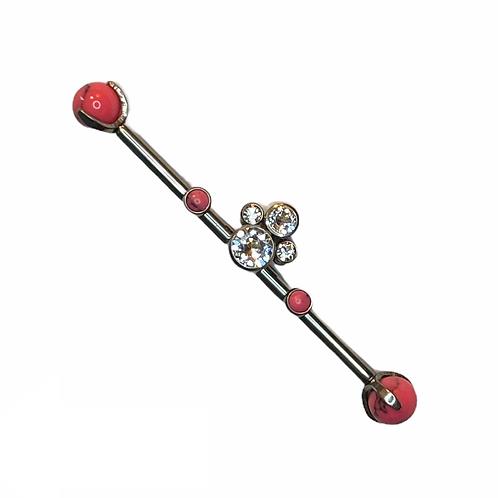 Cluster Scaffold Bar Titanium