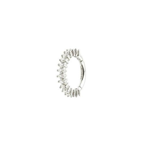 Tish Lyon 'Eta' Ring 14kt White Gold