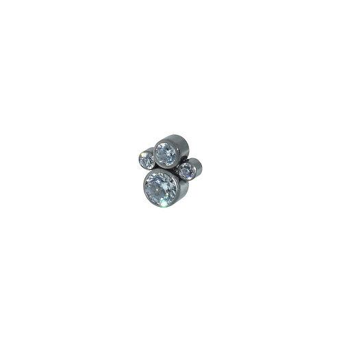 Swarovski Quad Cluster Titanium