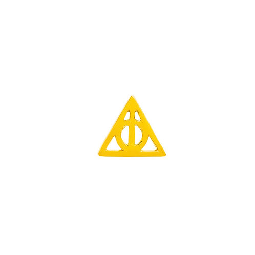Junipurr Deathly Hallows 14kt Yellow Gold