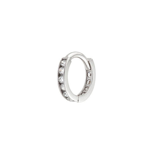 Tish Lyon 'Halina' Ring 14kt White Gold