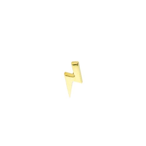 Tish Lyon Mini Lightning bolt 18kt Yellow Gold