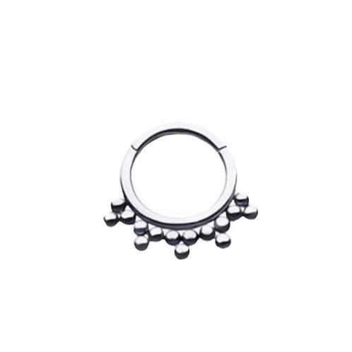 The 'Triolet' Ring Titanium